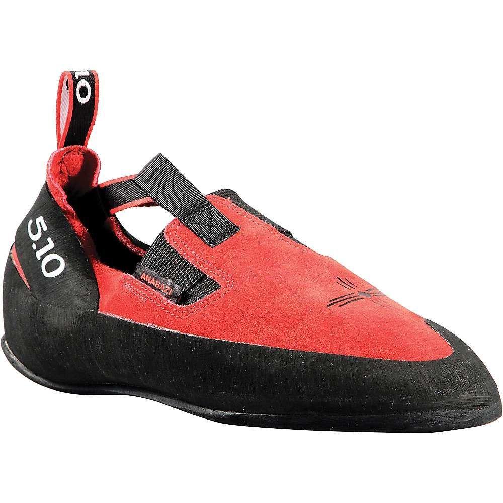 ファイブテン メンズ クライミング シューズ・靴 Red 【サイズ交換無料】 ファイブテン Five Ten メンズ クライミング シューズ・靴【anasazi moccasym climbing shoe】Red