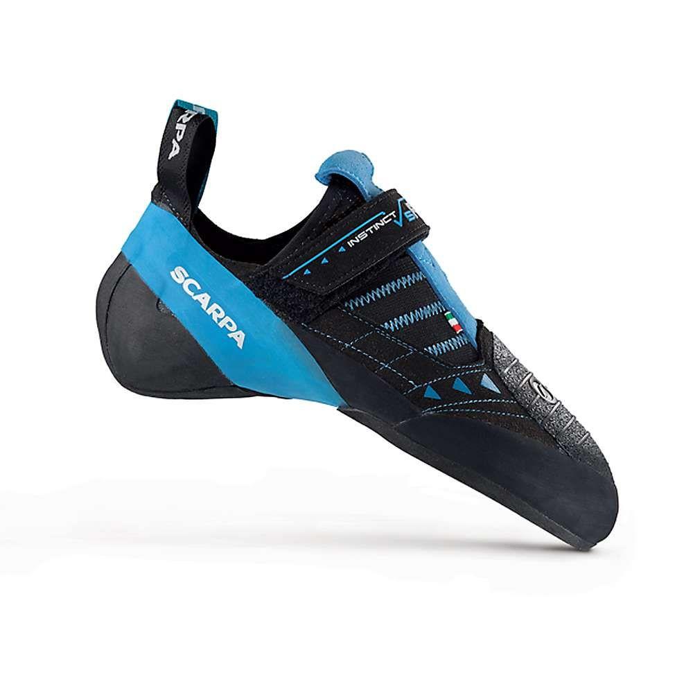 スカルパ Scarpa メンズ クライミング シューズ・靴【instinct vsr climbing shoe】Black/Azure