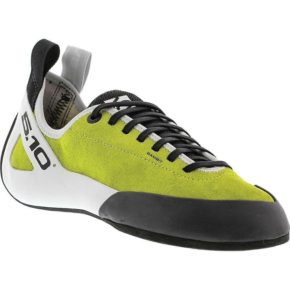 ファイブテン Five Ten メンズ クライミング シューズ・靴【gambit lace climbing shoe】Semi-Solar Green