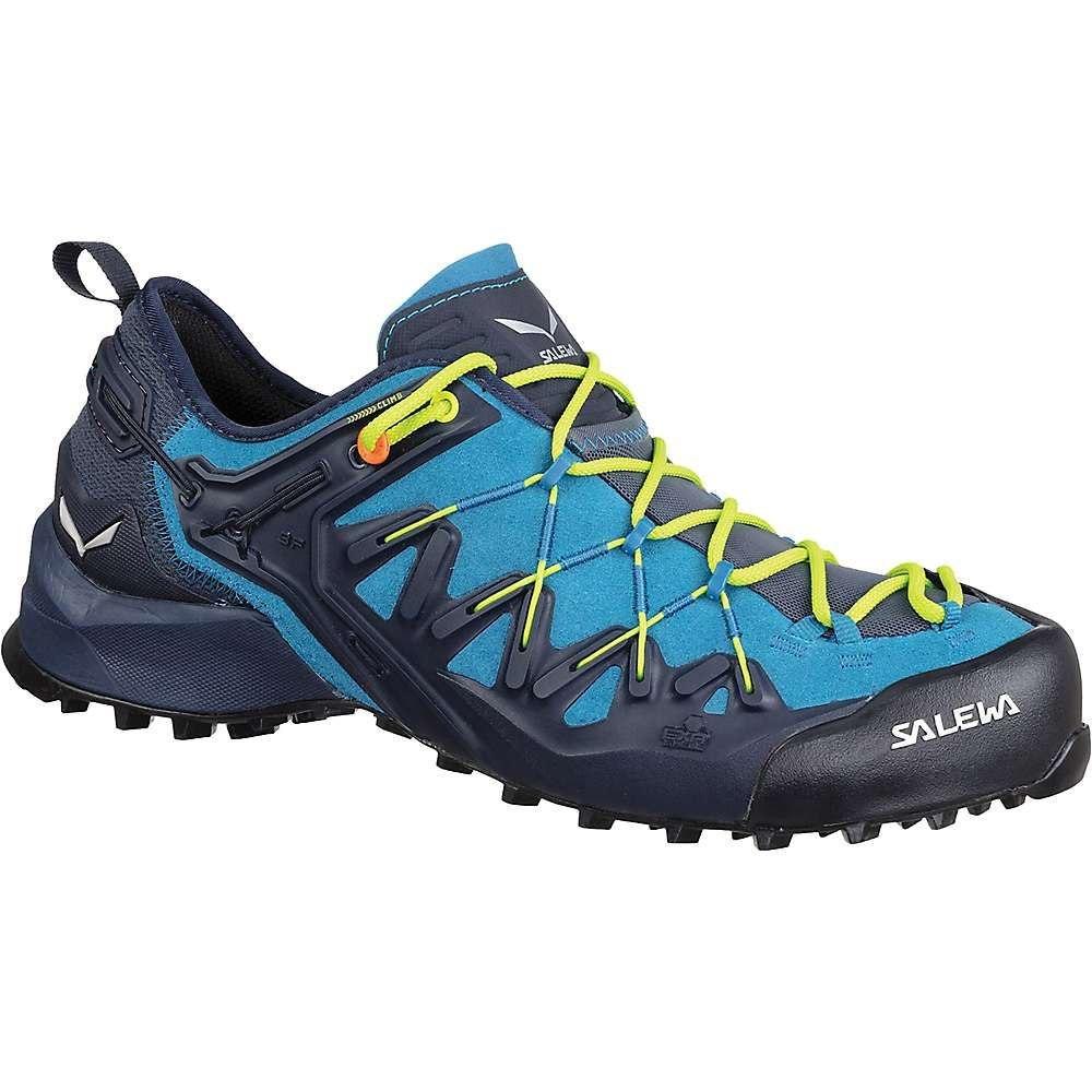 サレワ Salewa メンズ ハイキング・登山 シューズ・靴【wildfire edge shoe】Premium Navy/Fluo Yellow