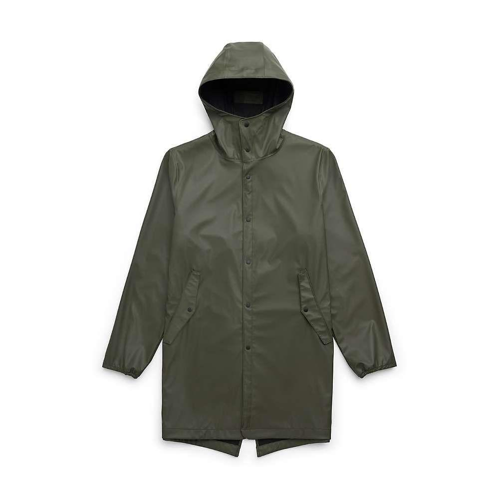 ハーシェル サプライ Herschel Supply Co メンズ レインコート アウター【fishtail rain parka】Dark Olive
