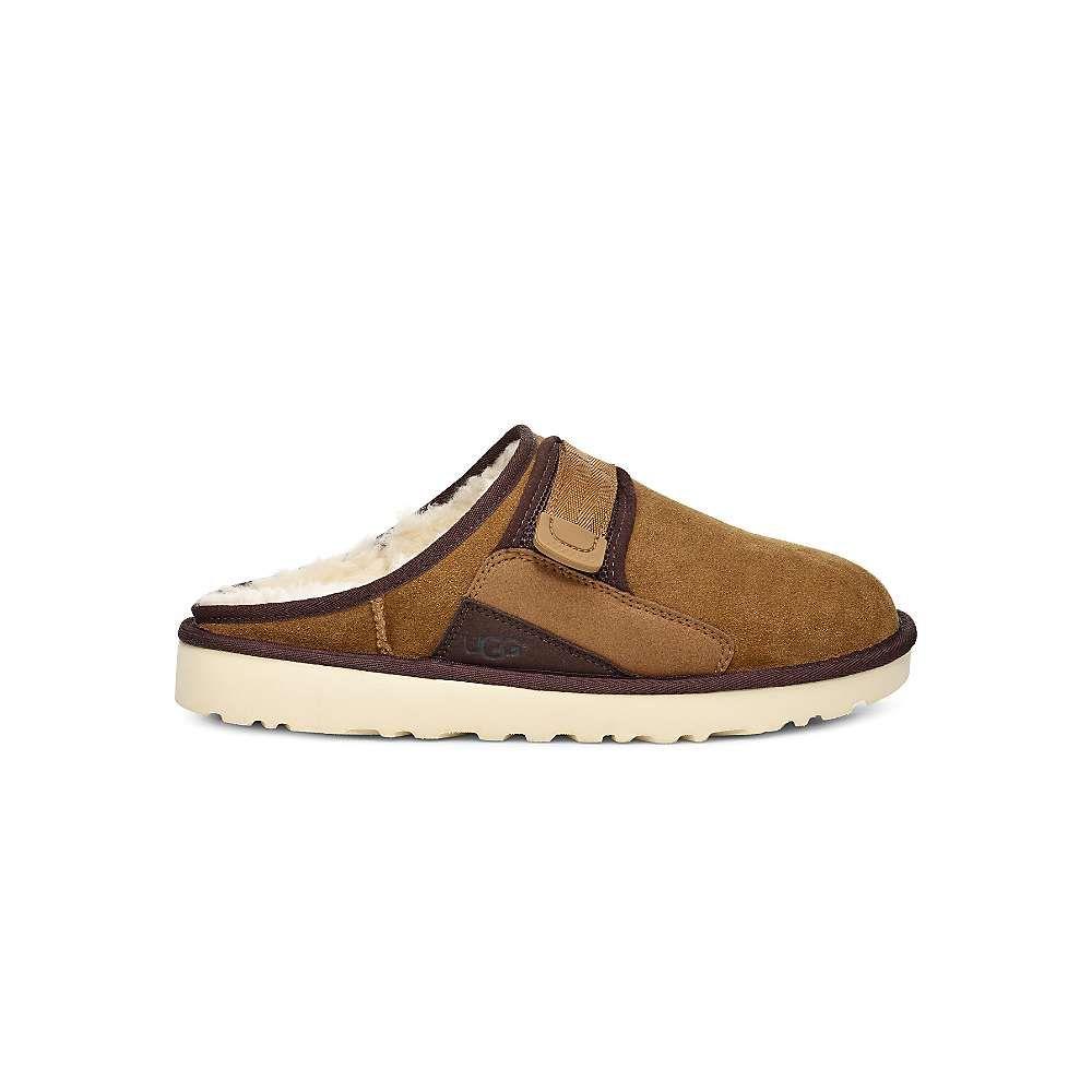 アグ Ugg メンズ クロッグ シューズ・靴【dune slip-on clog】Chestnut