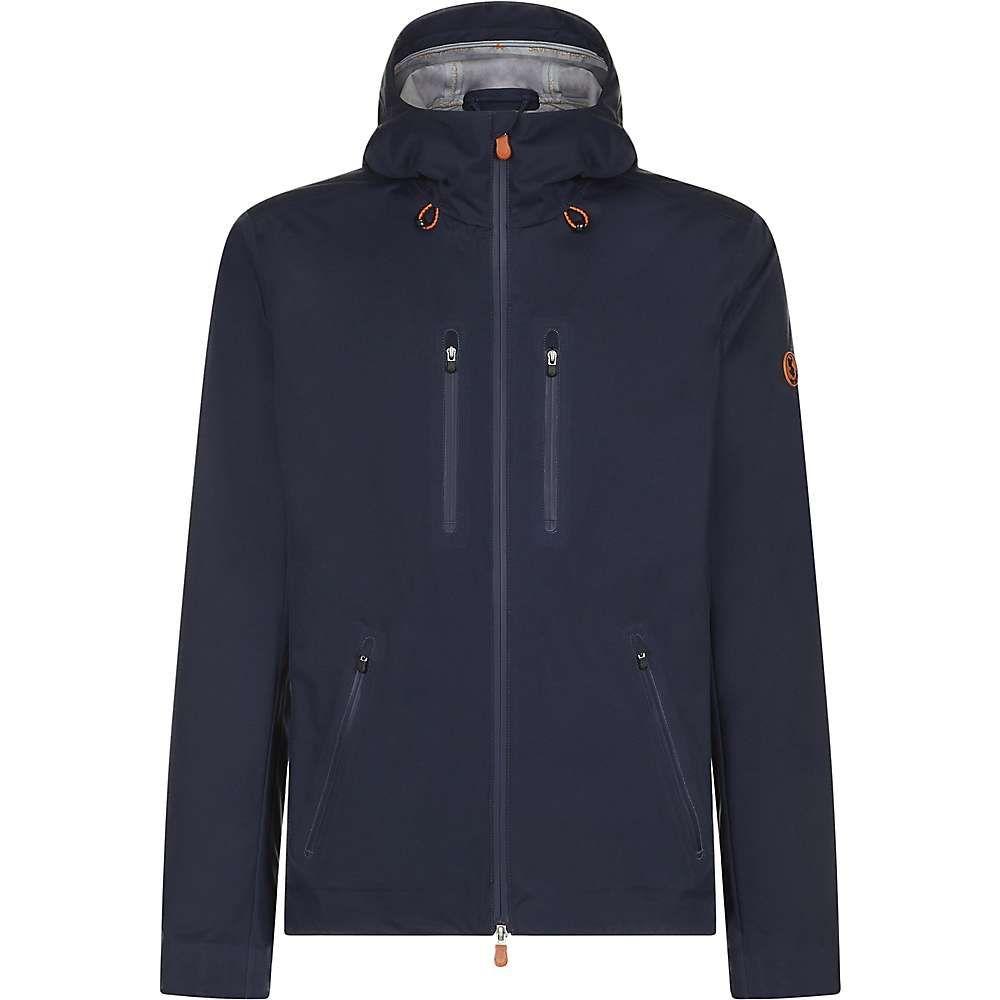 セイブ ザ ダック Save The Duck メンズ レインコート アウター【4-pocket zip up rain coat】Navy Blue