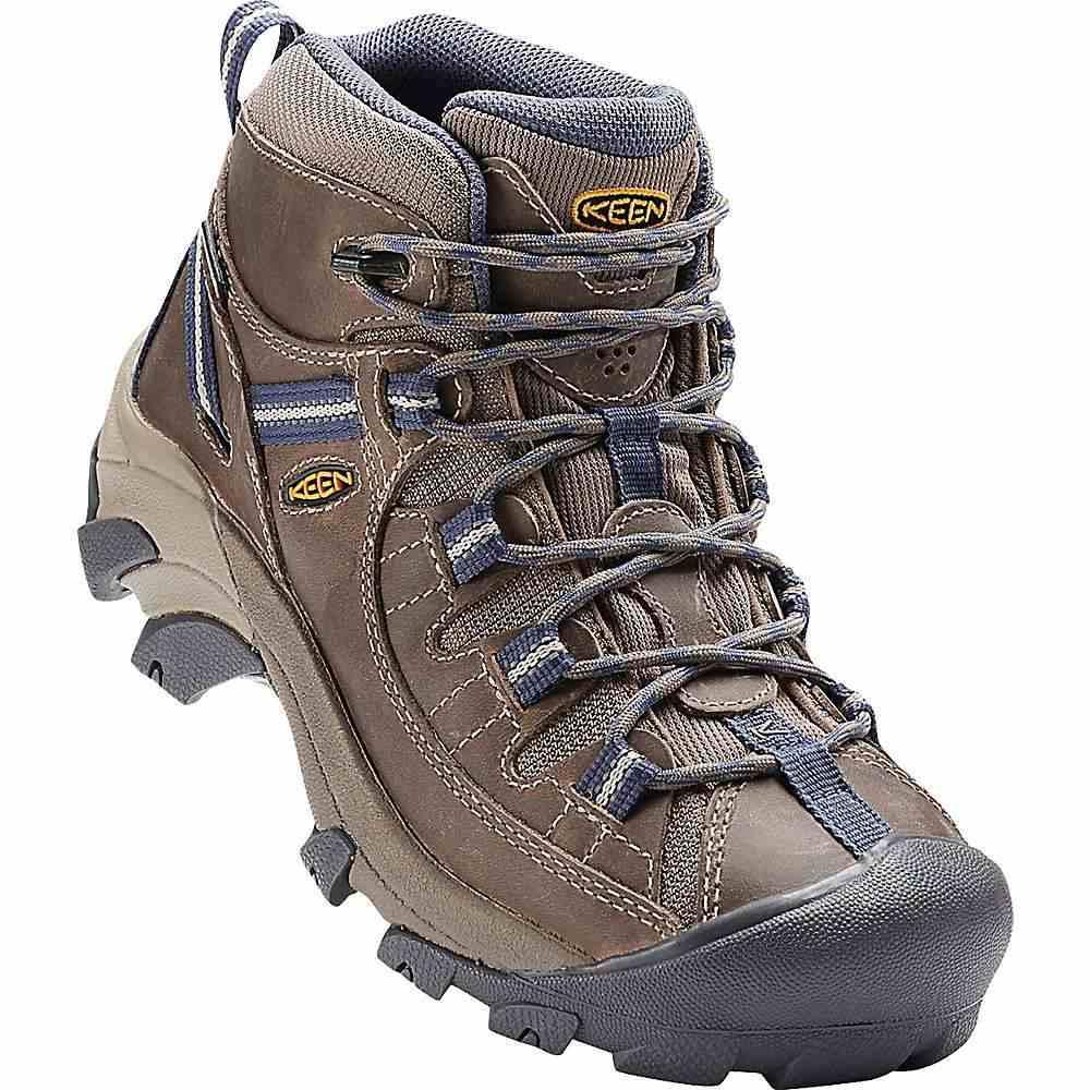 キーン Keen レディース ハイキング・登山 シューズ・靴【targhee ii mid waterproof shoe】Goat/Crown Blue