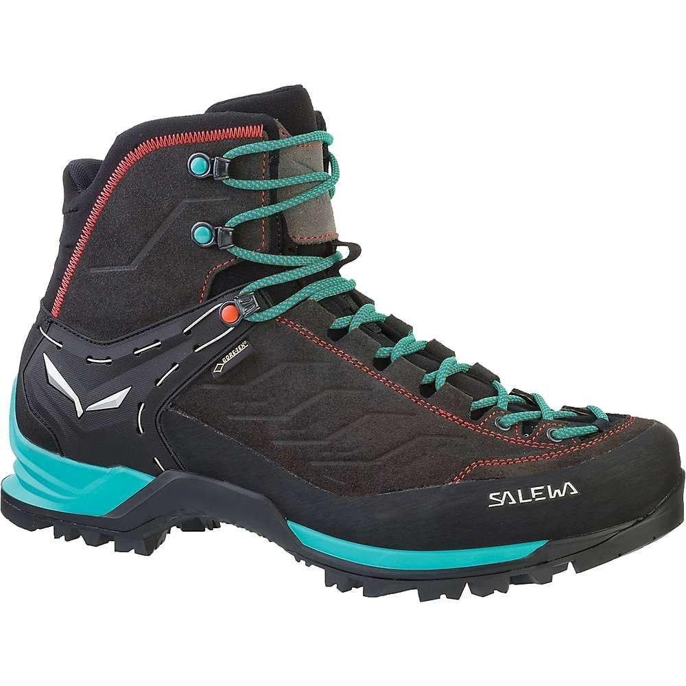 サレワ Salewa レディース ハイキング・登山 ブーツ シューズ・靴【mtn trainer mid gtx boot】Magnet/Viridian Green