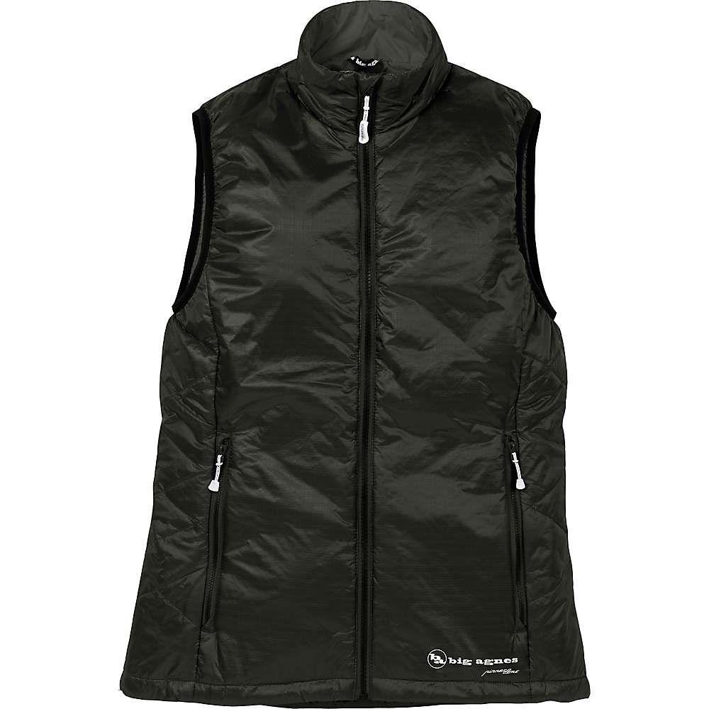 ビッグアグネス Big Agnes レディース ベスト・ジレ トップス【lucky penny vest】Black/Black