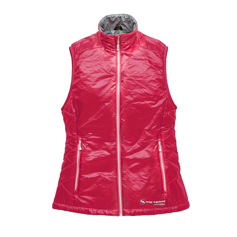 ビッグアグネス Big Agnes レディース ベスト・ジレ トップス【lucky penny vest】Grapefruit/Grey