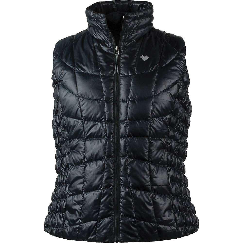 オバマイヤー Obermeyer レディース ベスト・ジレ ダウンベスト トップス【soleil reversible down vest】Black