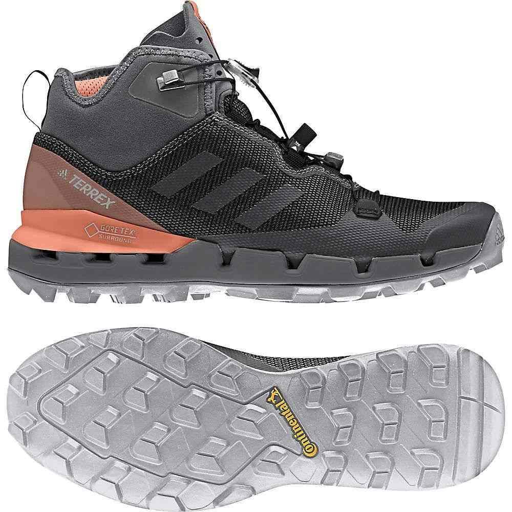 アディダス Adidas レディース ハイキング・登山 シューズ・靴【terrex fast mid gtx surround shoe】Black/Grey Five/Chalk Coral