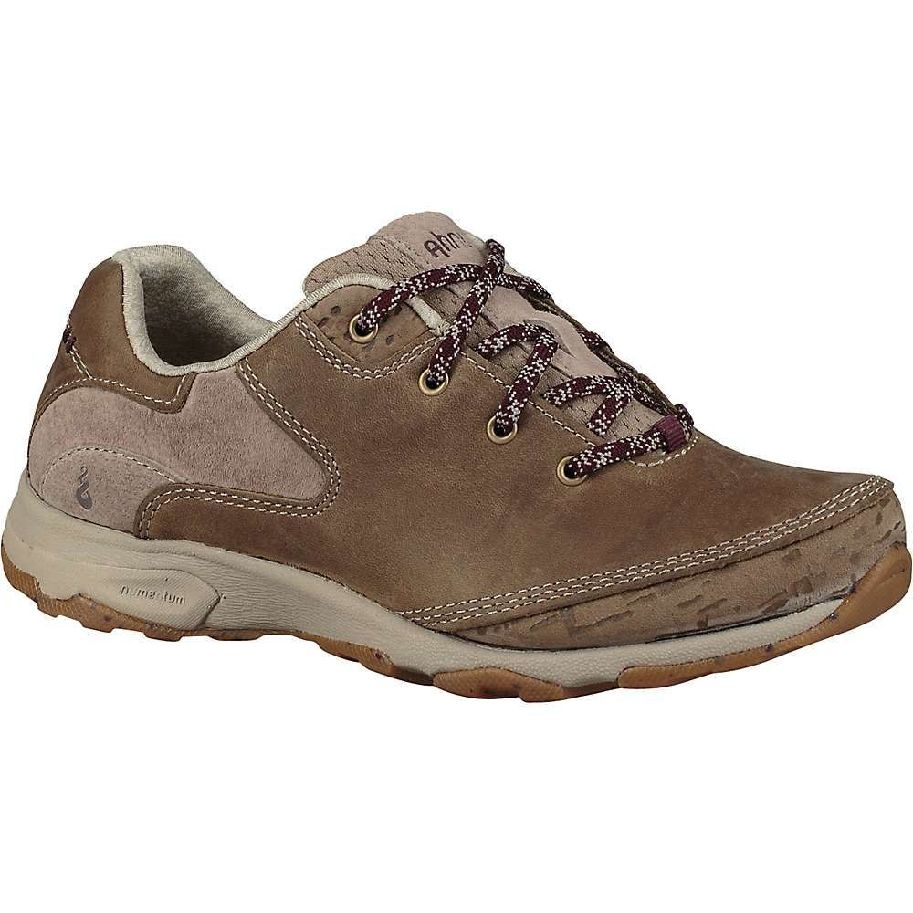テバ Teva レディース ハイキング・登山 シューズ・靴【ahnu by sugar venture lace shoe】Smoked Timber