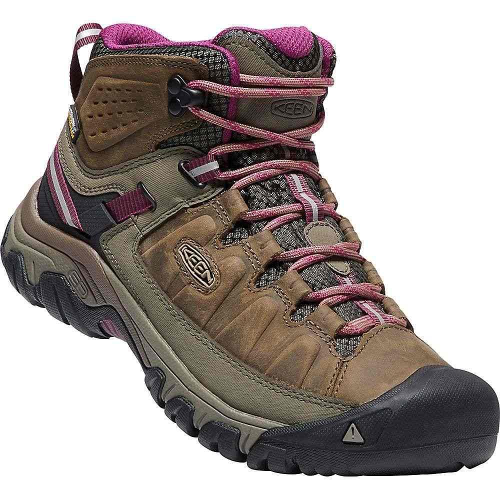 キーン Keen レディース ハイキング・登山 シューズ・靴【targhee iii mid waterproof shoe】Weiss/Boysenberry