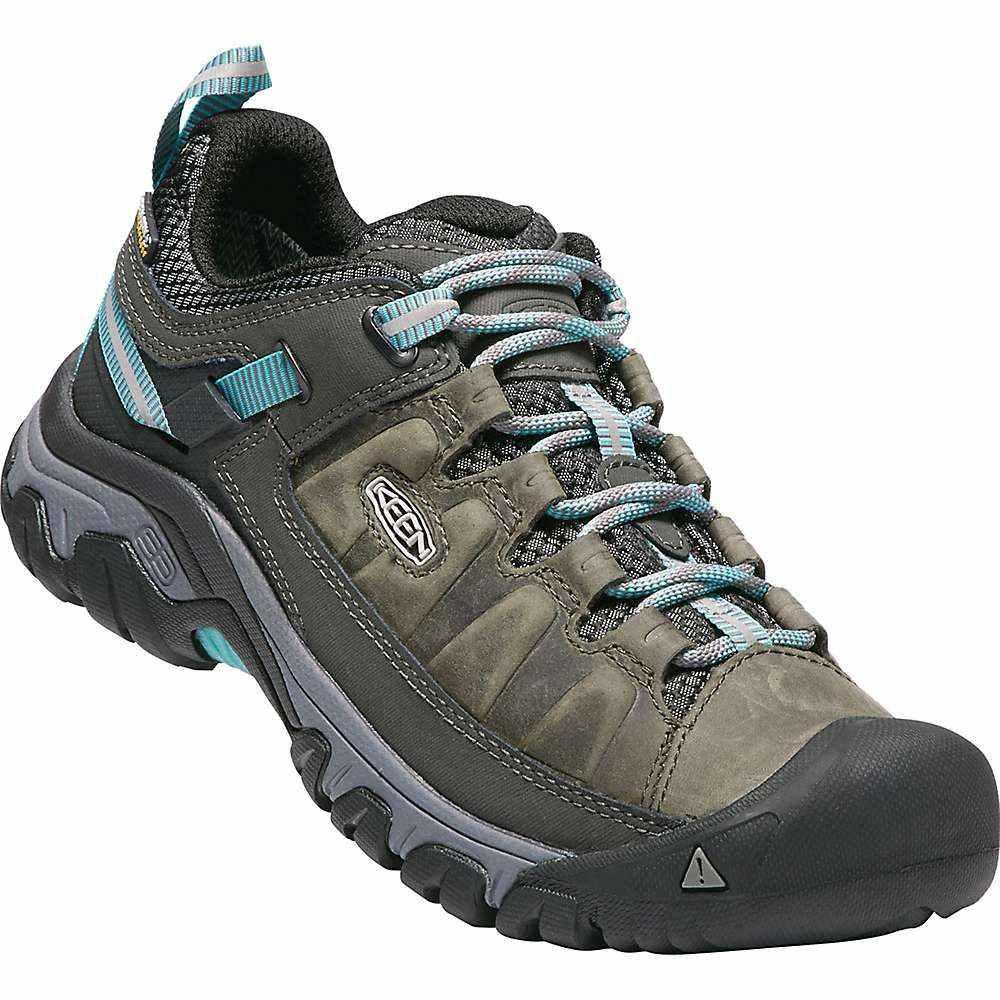キーン Keen レディース ハイキング・登山 シューズ・靴【targhee iii waterproof shoe】Alcatraz/Blue Turquoise