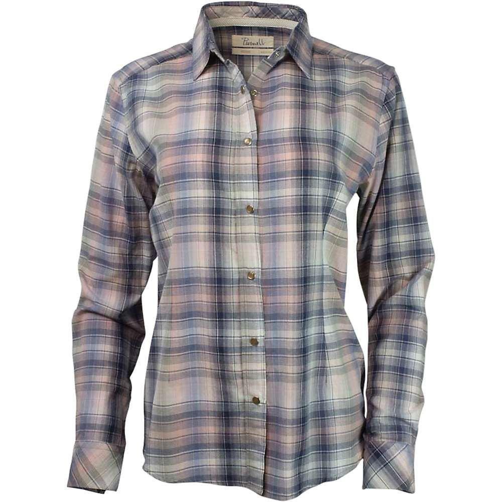 パーネル Purnell レディース ブラウス・シャツ トップス【madras plaid ls shirt】Pink/Navy Plaid
