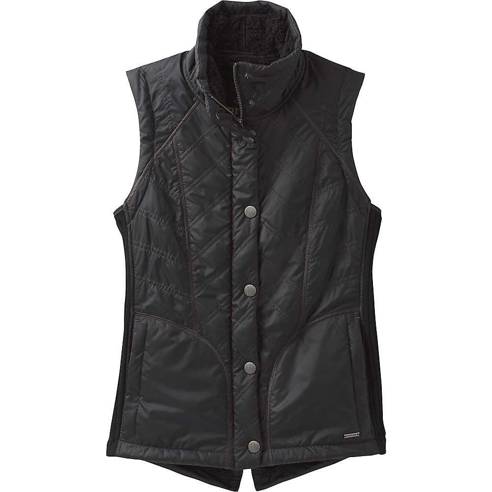 プラーナ Prana レディース ベスト・ジレ トップス【diva vest】Black