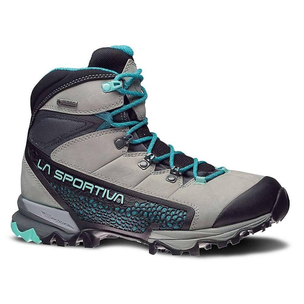 ラスポルティバ La Sportiva レディース ハイキング・登山 ブーツ シューズ・靴【nucleo high gtx boot】Grey/Mint