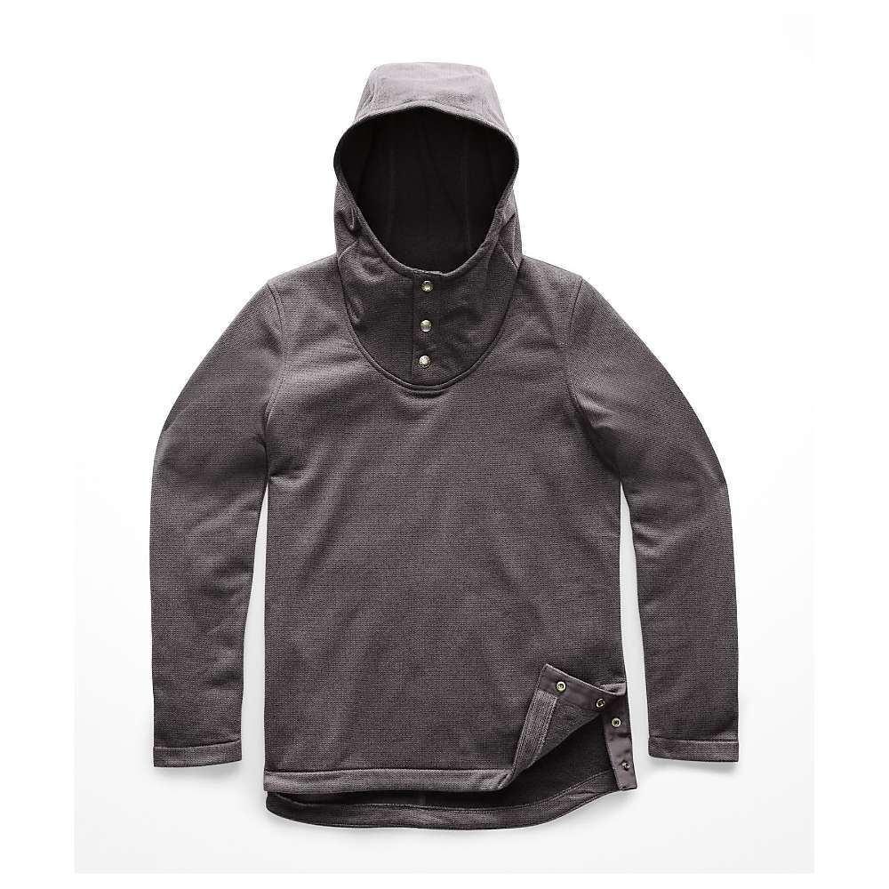 ザ ノースフェイス The North Face レディース フィットネス・トレーニング トップス【knit stitch fleece pullover】Rabbit Grey Heather