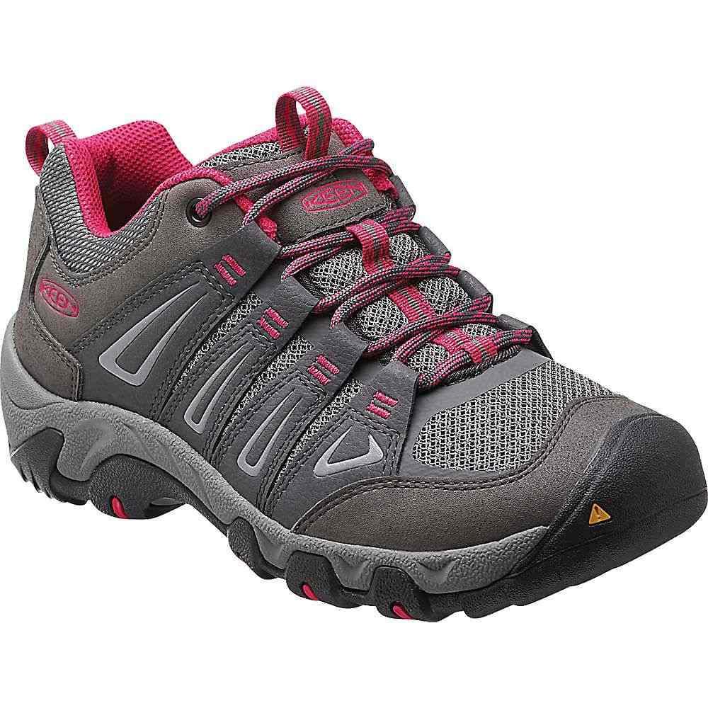 キーン Keen レディース ハイキング・登山 ブーツ シューズ・靴【oakridge boot】Magnet/Rose