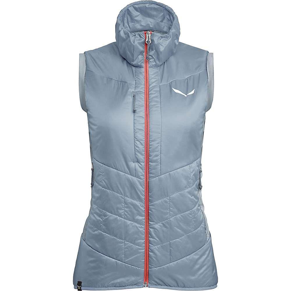 サレワ Salewa レディース ベスト・ジレ トップス【ortles hybrid tw clt vest】Blue Fog