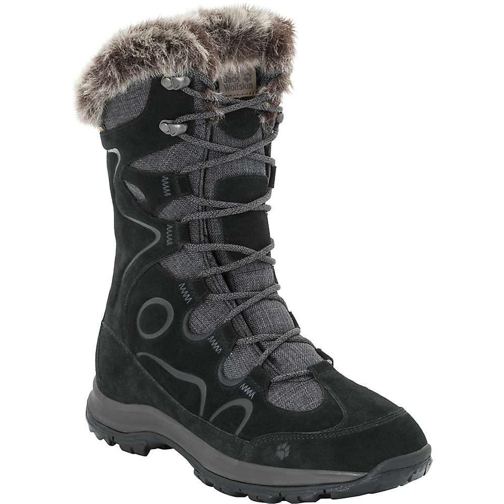 ジャックウルフスキン Jack Wolfskin レディース ハイキング・登山 ブーツ シューズ・靴【glacier bay texapore high boot】Black
