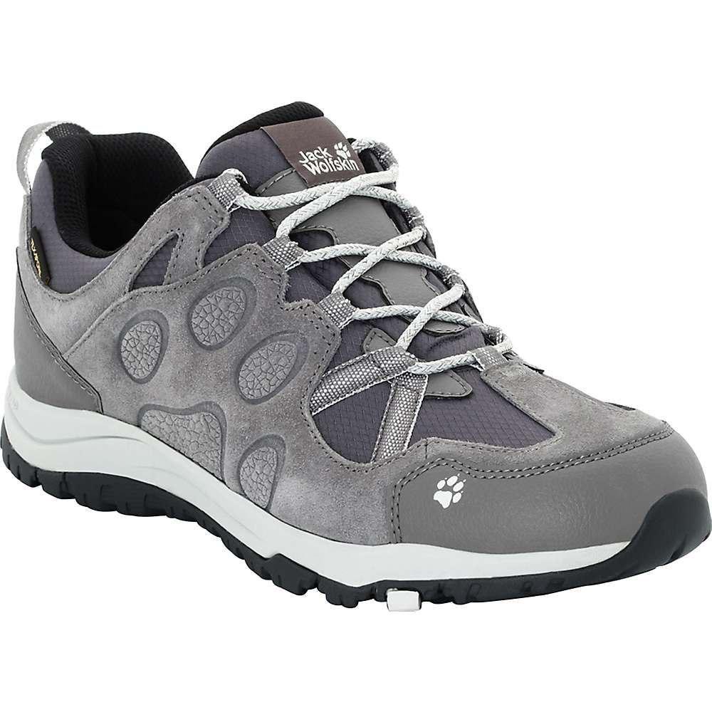ジャックウルフスキン Jack Wolfskin レディース ハイキング・登山 ブーツ シューズ・靴【rocksand texapore low boot】Grey Haze