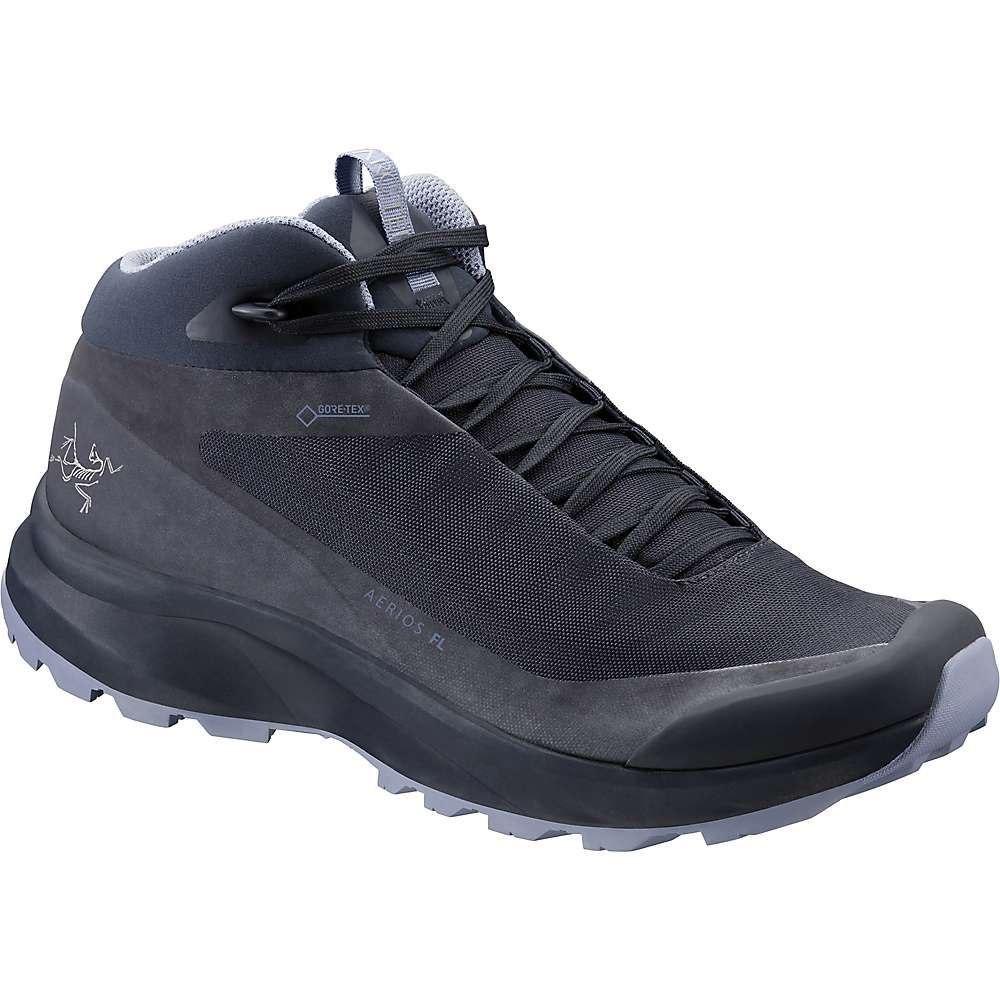 アークテリクス Arcteryx レディース ハイキング・登山 シューズ・靴【aerios fl mid gtx shoe】Black Sapphire/Binary