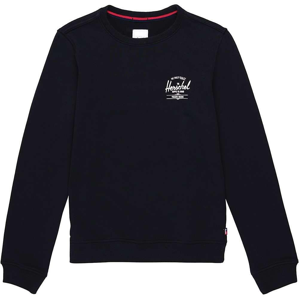 ハーシェル サプライ Herschel Supply Co レディース トップス 【crewneck】Classic Logo Black/White