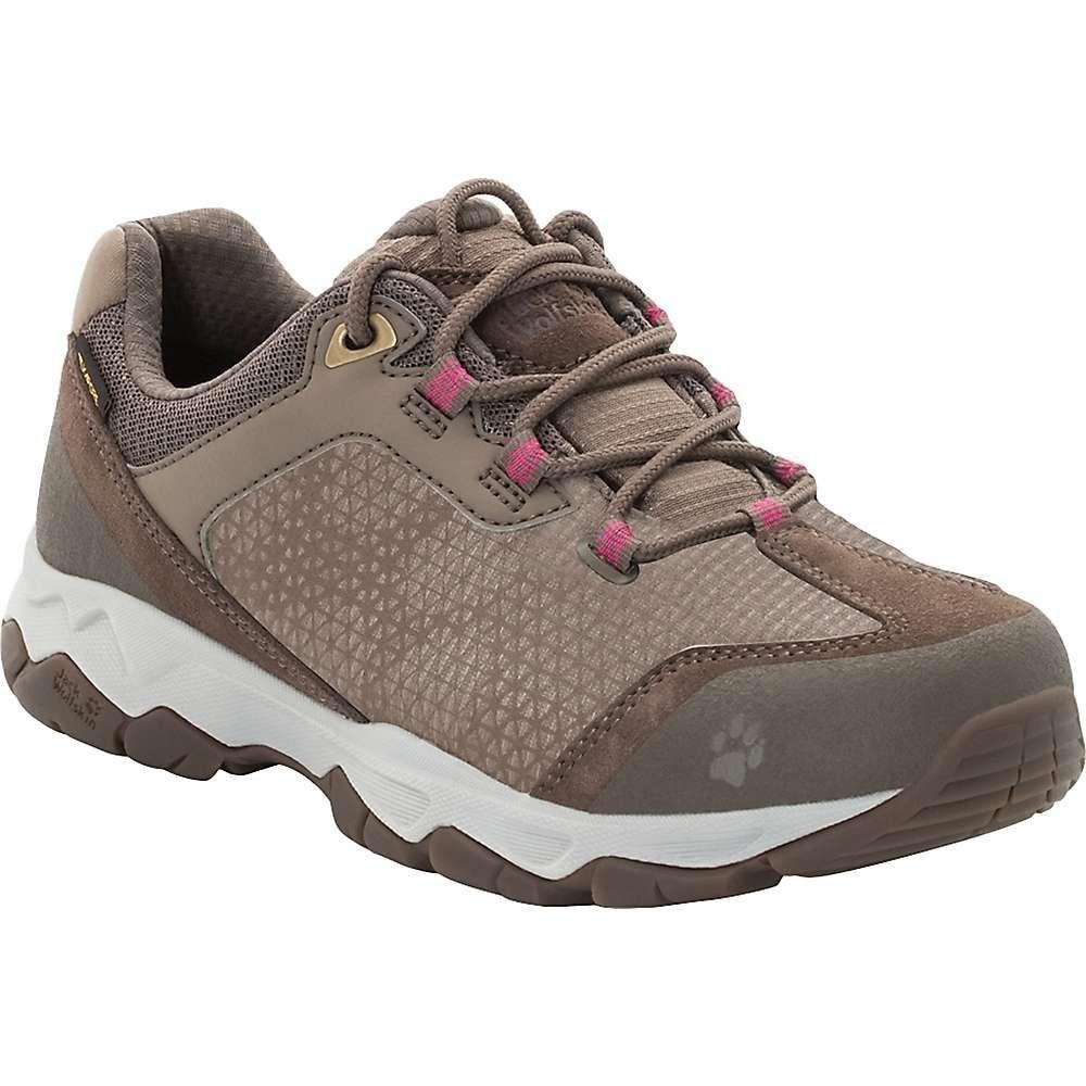 ジャックウルフスキン Jack Wolfskin レディース ハイキング・登山 ブーツ シューズ・靴【rock hunter texapore low boot】Siltstone