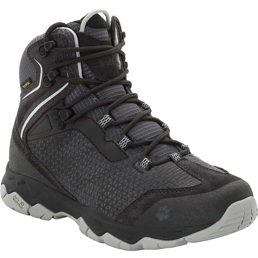 ジャックウルフスキン Jack Wolfskin レディース ハイキング・登山 ブーツ シューズ・靴【rock hunter texapore mid boot】Phantom