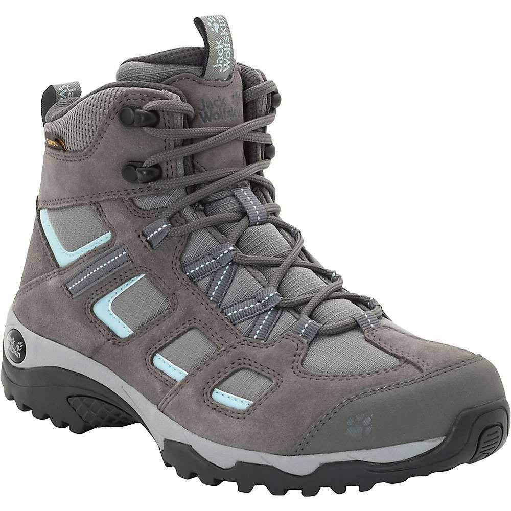ジャックウルフスキン Jack Wolfskin レディース ハイキング・登山 ブーツ シューズ・靴【vojo hike 2 texapore mid boot】Tarmac Grey