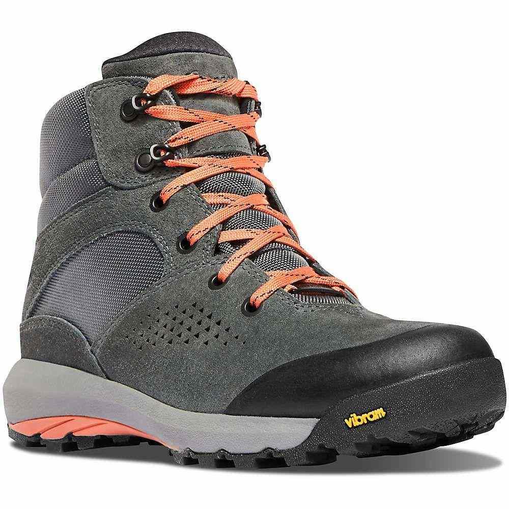 ダナー Danner レディース ハイキング・登山 ブーツ シューズ・靴【inquire mid 5in boot】Dark Gray/Salmon
