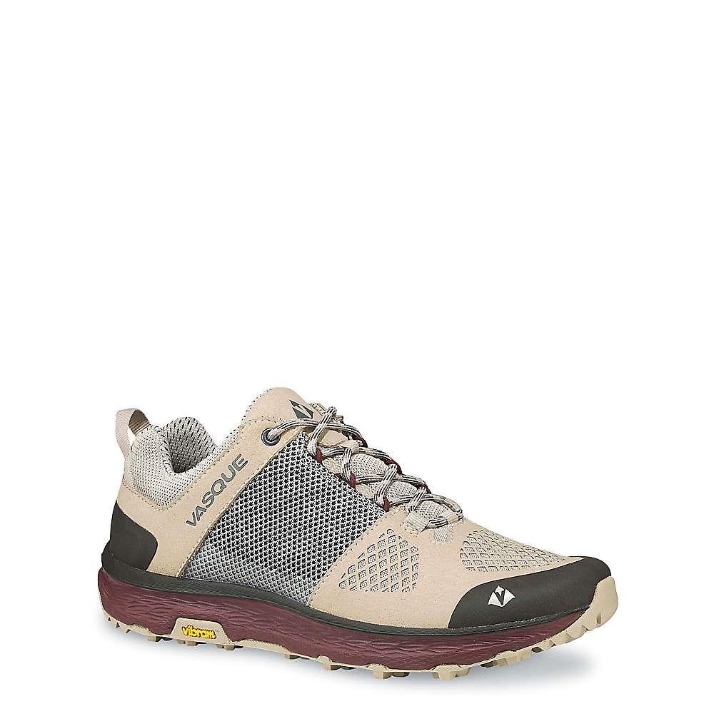 バスク Vasque レディース ハイキング・登山 シューズ・靴【breeze lt low shoe】Aluminum/Rum Raisin
