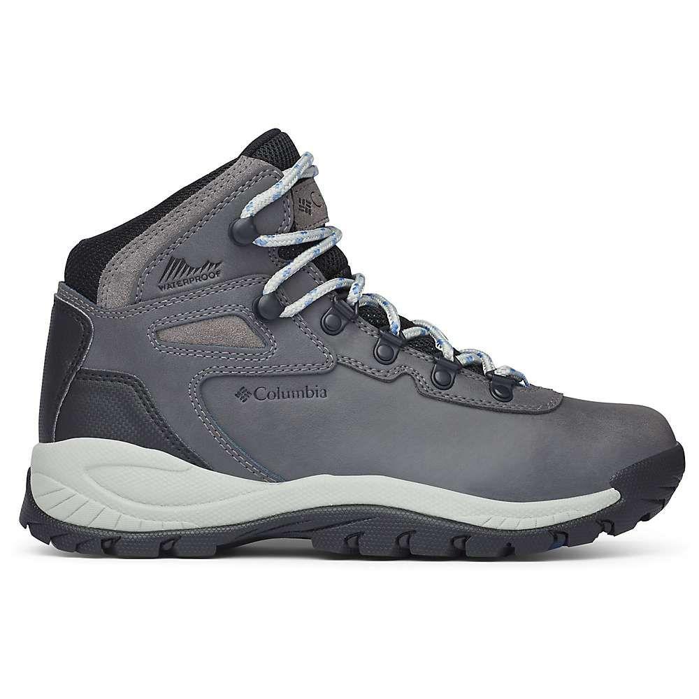 コロンビア Columbia Footwear レディース ハイキング・登山 ブーツ シューズ・靴【columbia newton ridge plus boot】Quarry/Cool Wave