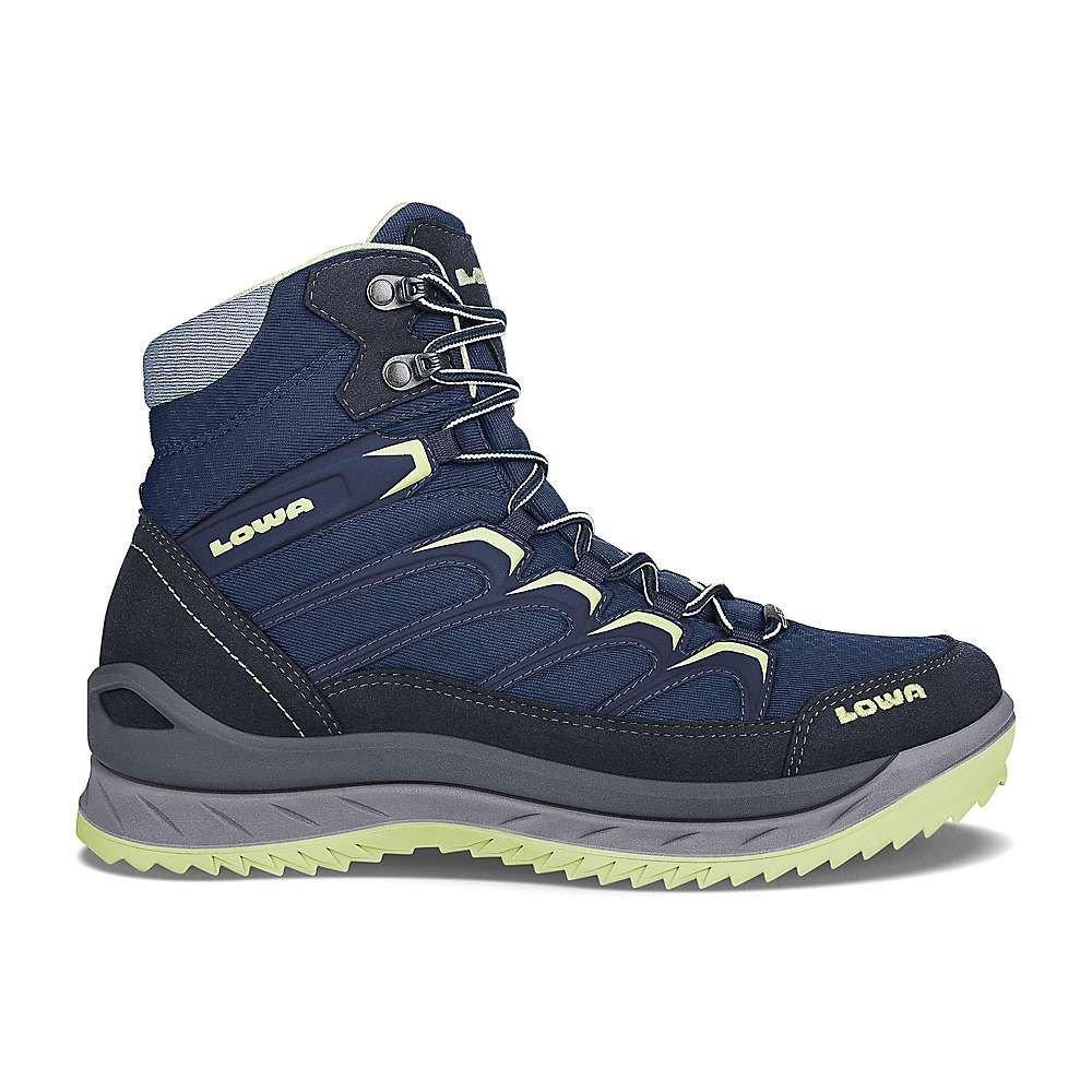 ローバー Lowa Boots レディース ハイキング・登山 ブーツ シューズ・靴【lowa innox ice gtx mid boot】Navy/Mint