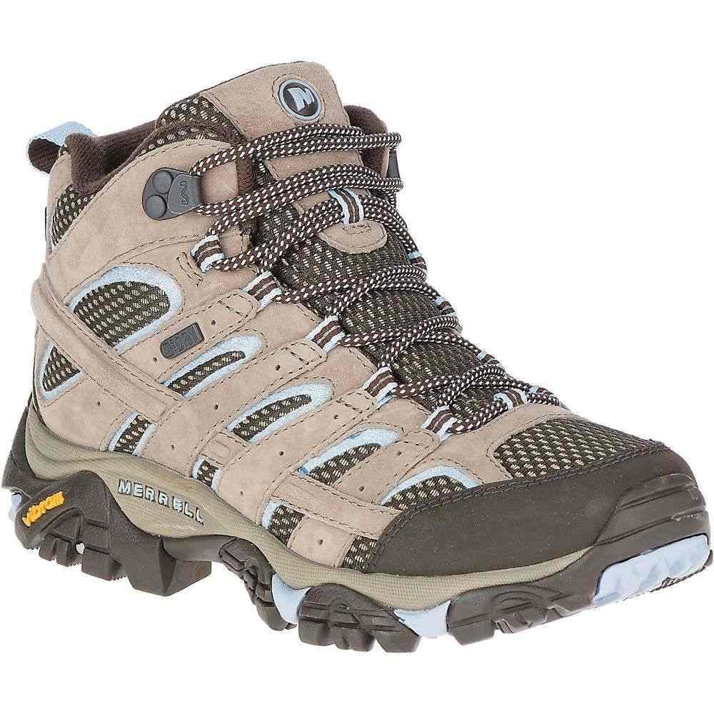 メレル Merrell レディース ハイキング・登山 ブーツ シューズ・靴【moab 2 mid waterproof boot】Brindle