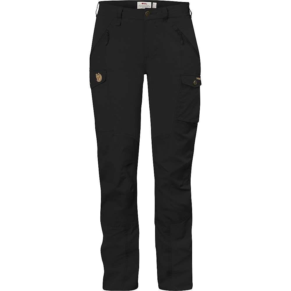 フェールラーベン Fjallraven レディース ハイキング・登山 ボトムス・パンツ【nikka curved trousers】Black