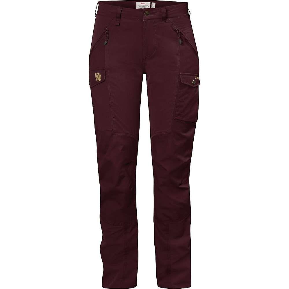 フェールラーベン Fjallraven レディース ハイキング・登山 ボトムス・パンツ【nikka curved trousers】Dark Garnet