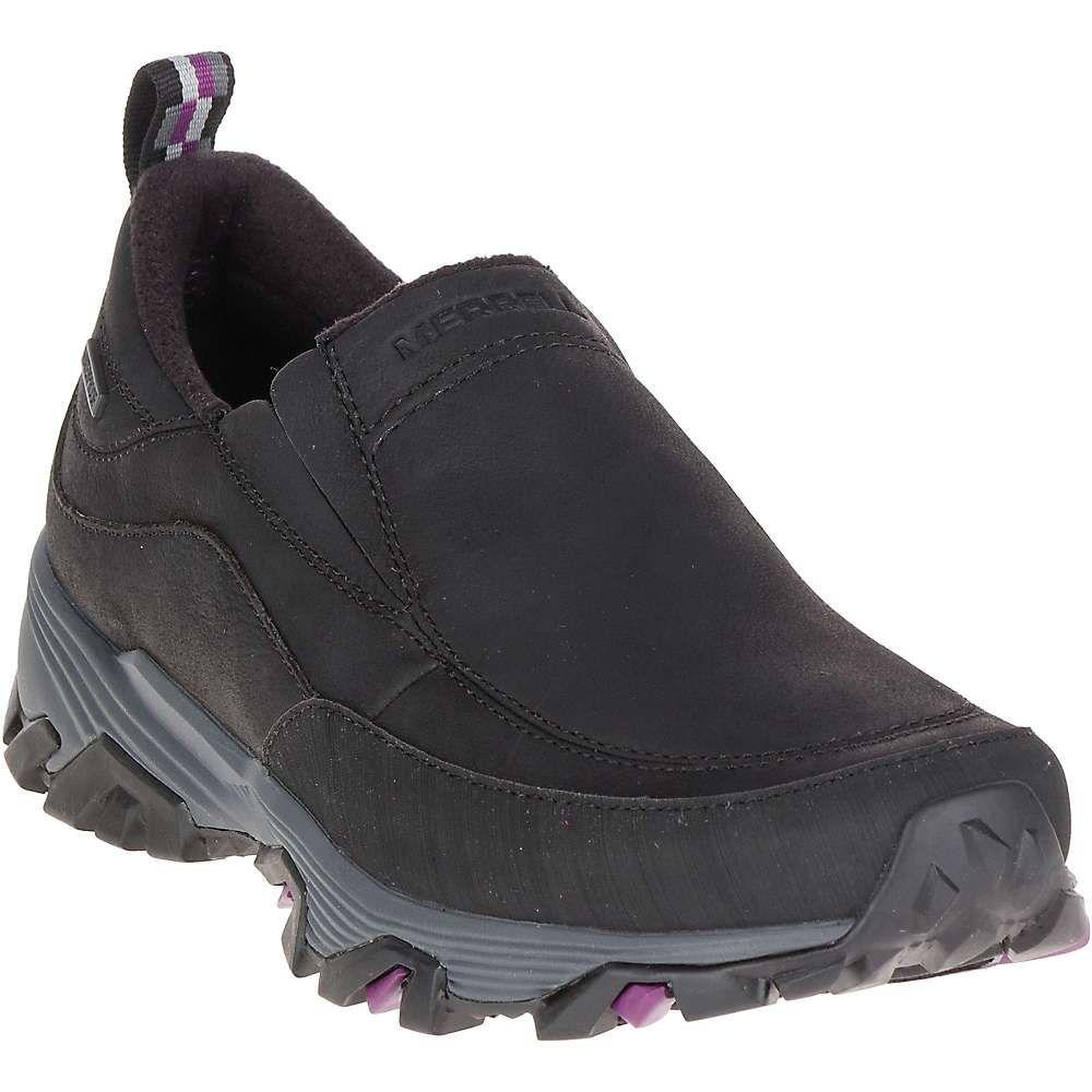 メレル Merrell レディース ハイキング・登山 シューズ・靴【coldpack ice+ moc waterproof shoe】Black