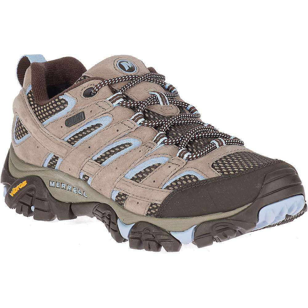 メレル Merrell レディース ハイキング・登山 シューズ・靴【moab 2 waterproof shoe】Brindle