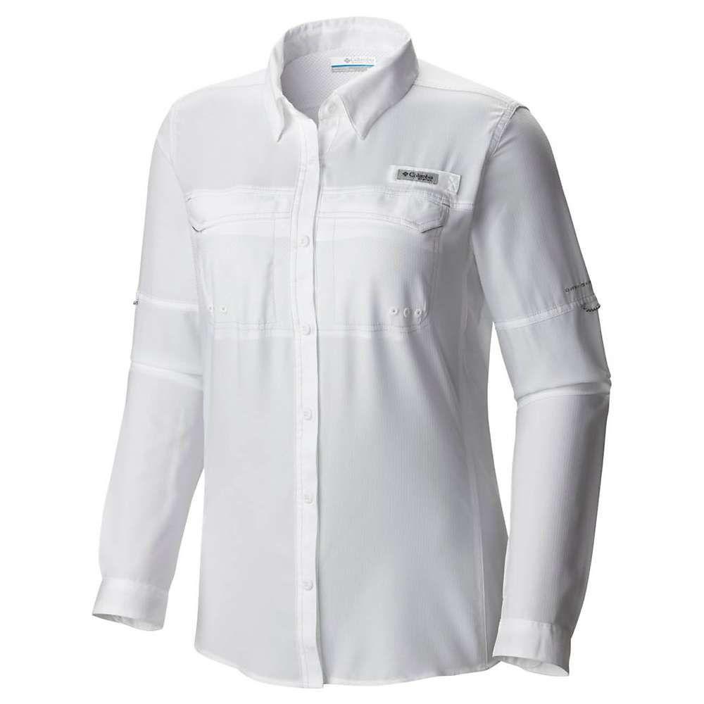 コロンビア レディース ハイキング 登山 トップス White サイズ交換無料 drag 登場大人気アイテム shirt lo ls シャツ 至高 Columbia