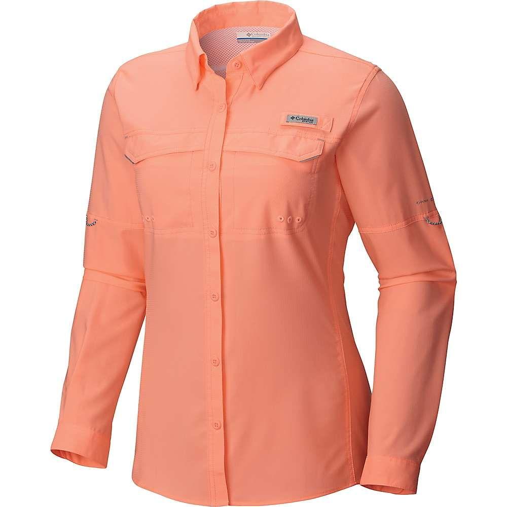 コロンビア レディース ハイキング 登山 トップス Tiki Pink drag シャツ ls Columbia 正規店 時間指定不可 サイズ交換無料 lo shirt