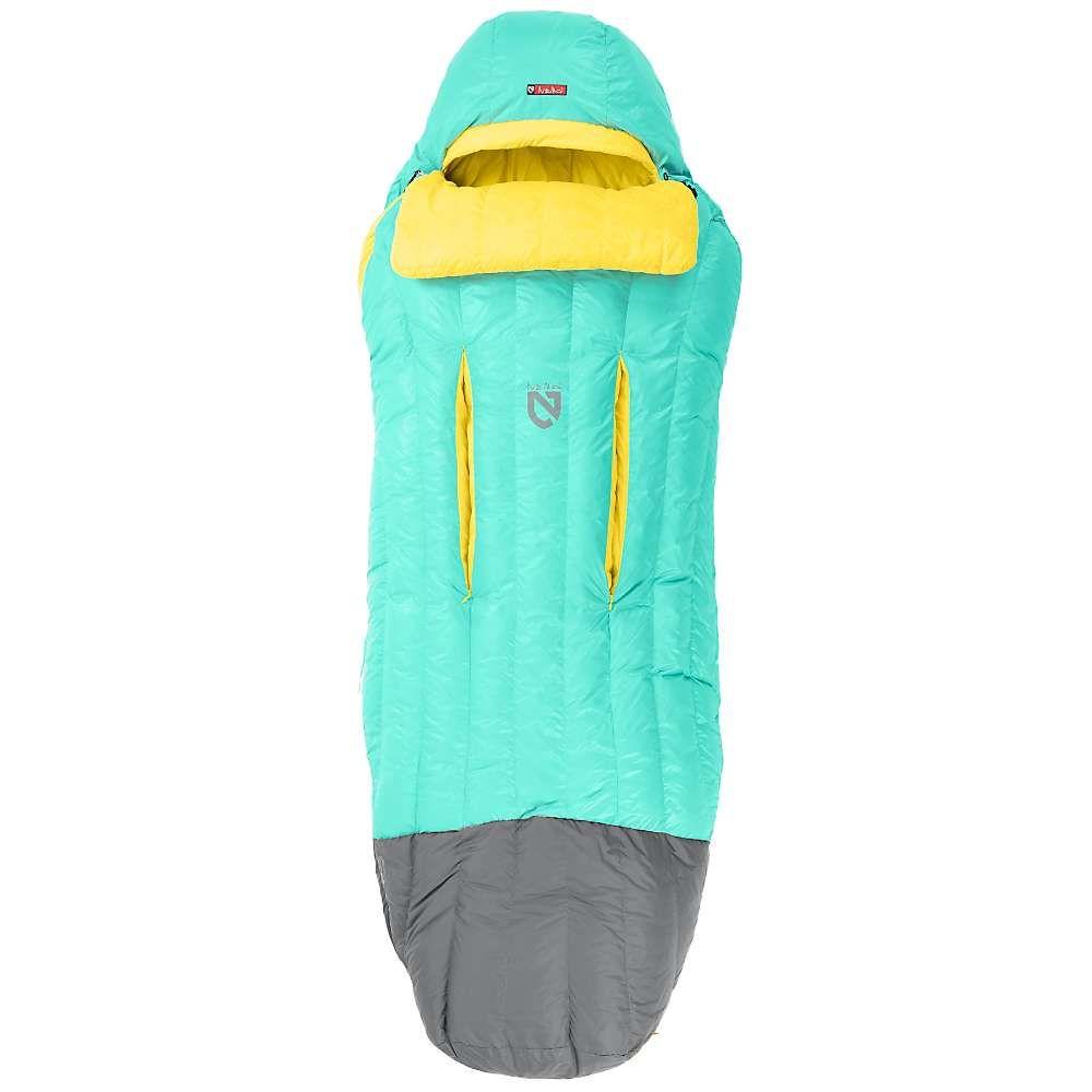ネモ NEMO レディース ハイキング・登山 寝袋【rave 30 sleeping bag】Sea Glass/Lemon