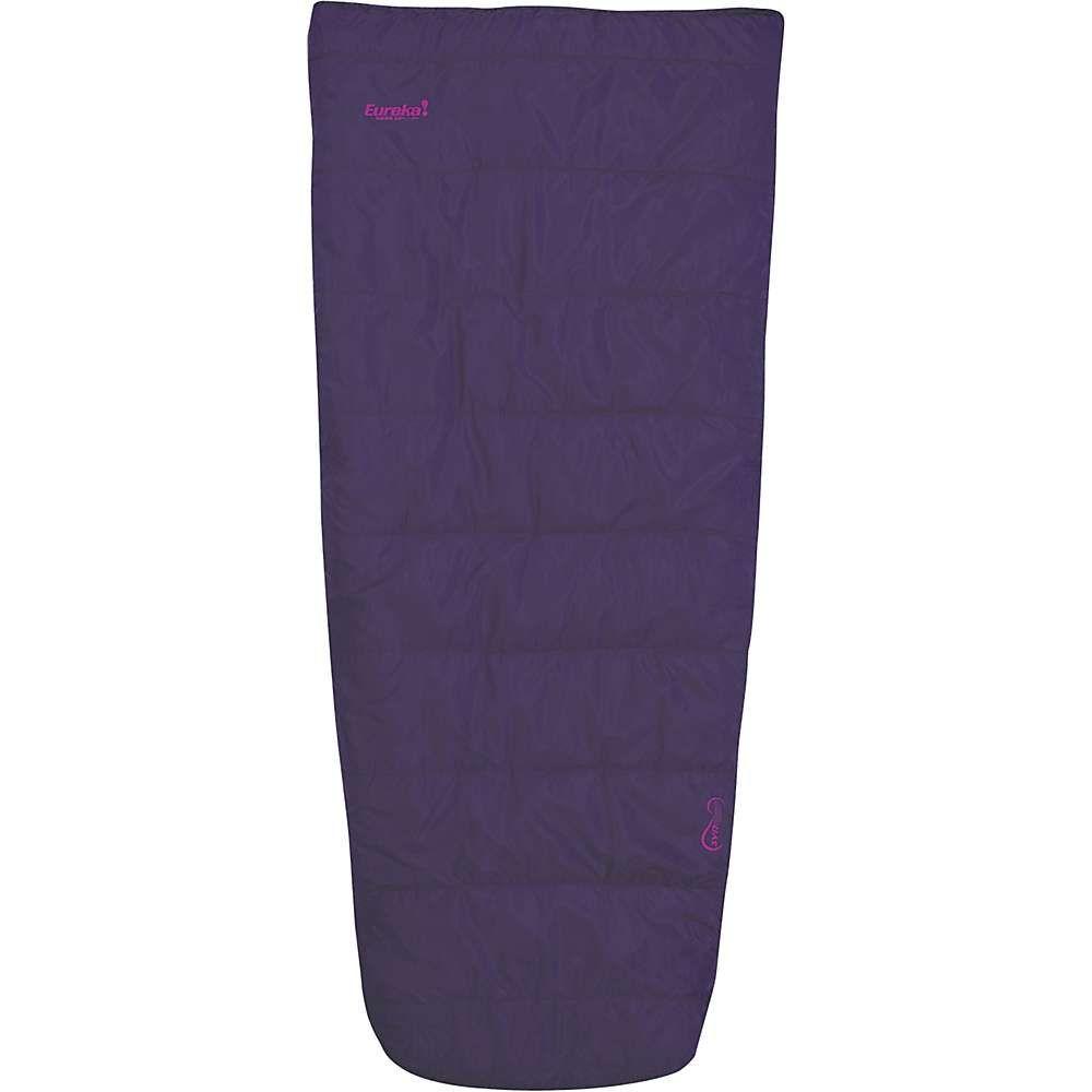 ユレカ Eureka レディース ハイキング・登山 寝袋【kiewa 20 degree sleeping bag】Purple