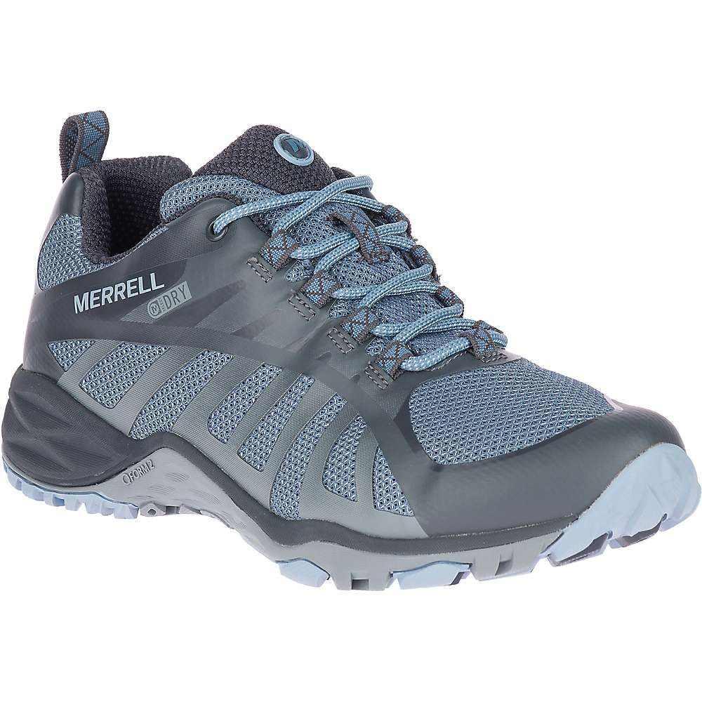 メレル Merrell レディース ハイキング・登山 シューズ・靴【siren edge q2 waterproof shoe】Bluestone