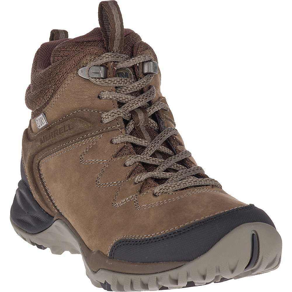 メレル Merrell レディース ハイキング・登山 シューズ・靴【siren traveller q2 mid waterproof shoe】Slate/Black