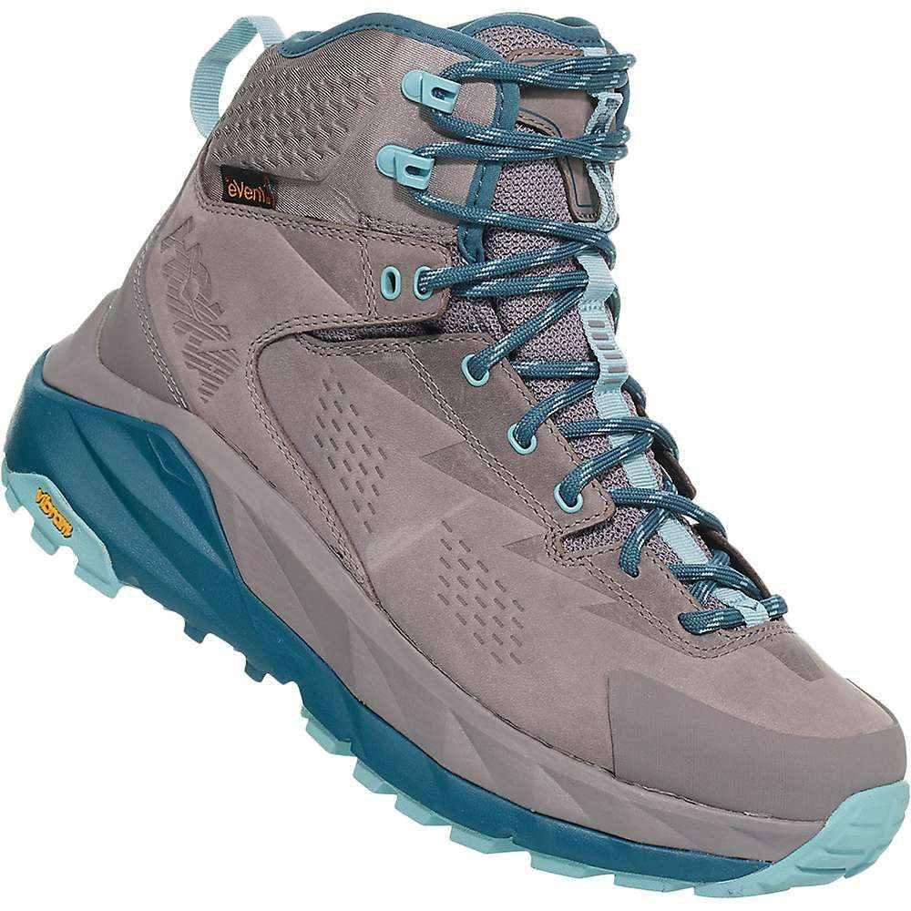 ホカ オネオネ Hoka One One レディース ハイキング・登山 シューズ・靴【sky kaha shoe】Frost Grey/Aqua Haze
