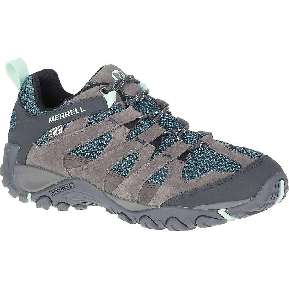 メレル Merrell レディース ハイキング・登山 ブーツ シューズ・靴【alverstone waterproof boot】Charcoal
