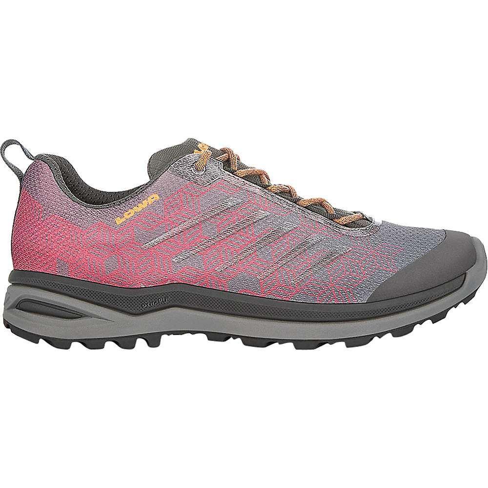 ローバー Lowa Boots レディース ハイキング・登山 シューズ・靴【lowa lynnox gtx lo shoe】Wine Red/Mandarine