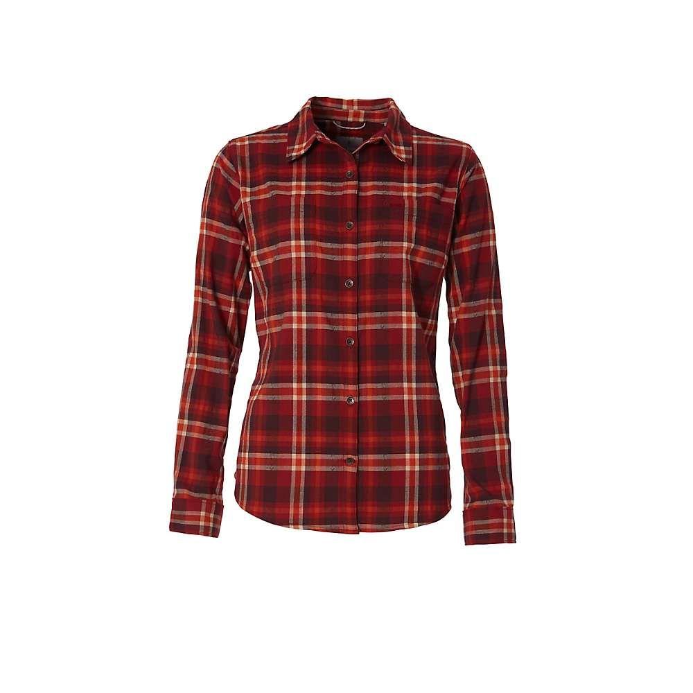 ロイヤルロビンズ Royal Robbins レディース ハイキング・登山 フランネルシャツ トップス【thermotech flannel shirt】Summer Fig