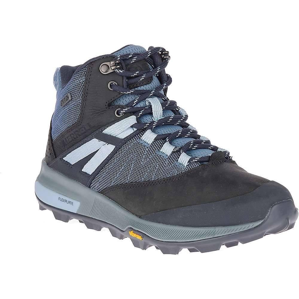 メレル Merrell レディース ハイキング・登山 シューズ・靴【zion mid waterproof shoe】Navy