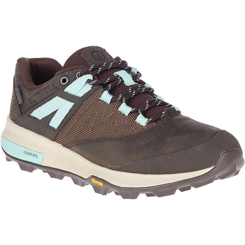 メレル Merrell レディース ハイキング・登山 シューズ・靴【zion waterproof shoe】Seal Brown
